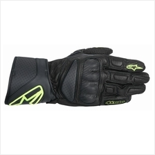 ALPINESTARS SP-8 LEATHER GLOVE (YELLOW/BLACK)