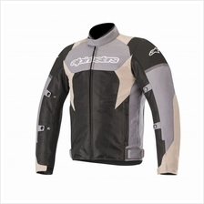 Alpinestars Roma V2 Waterproof Drystar Jacket - Dark Grey/Sand Black