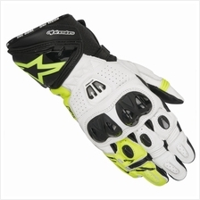 ALPINESTARS GP PRO R2 GLOVE (YELLOW/BLACK/WHITE)
