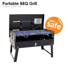 Outdoor BBQ Barbeque Grill Set Portable Travel Camping