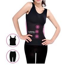 Seamless Tourmaline Far Infrared Ray Shapewear Underwear Body Shaper
