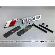 Toyota Vios (2nd Gen) TRD Front Grill Chrome Emblem (GE01)