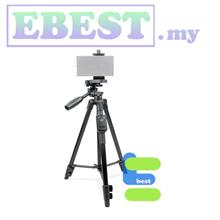 YunTeng VCT-5208 Compact Video Tripod with Smartphone Remote