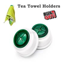Tea Towel Holder Push In Rubber Dish Cloth Kitchen Tea Towel Rack