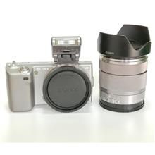 Sony Alpha NEX-5 Camera come with SEL1855 Lens  + Flash