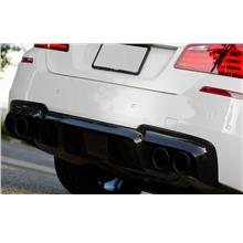 BMW 5 Series F10 '10 Rear Bumper V Type Diffuser PP