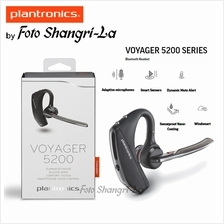 Plantronics Voyager 5200 Wireless Bluetooth Mono Headset Noise / Wind  Cancelli