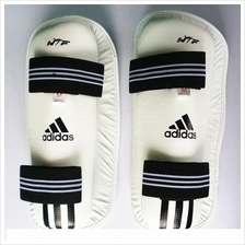 Adidas WTF PU MAYA Taekwondo Karate Training Shin Guard Protector- New