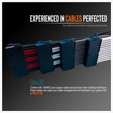 # SLEV.30 Premium Pre-Braided Modding Cables Extension for PSU #