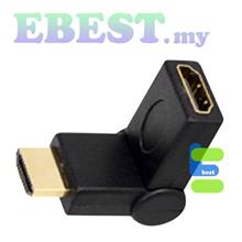 Adapter HDMI female to Mini HDMi converter L shape Extension connector