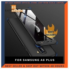 SAMSUNG A6 PLUS 360 FULL BODY PROTECTION CASE + TEMPERED GLASS