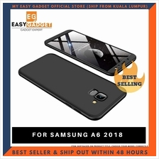 SAMSUNG A6 360 FULL BODY PROTECTION CASE + TEMPERED GLASS
