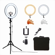 Studio ring light 18inch for make up videography video protrait set beauty lig