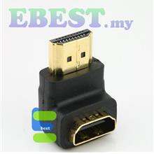 Adapter HDMI female to male converter L shape Extension connector