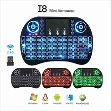 Wireless Rii I8 Air Mouse Touchpad Keyboard Remote TV Box
