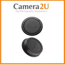 Canon Lens Rear Cap + Body Cap Cover for Canon EOS Digital Camera