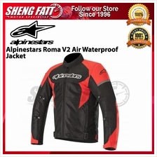 ALPINESTARS ROMA V2 AIR WATERPROOF JACKET (BLACK/RED) - [ORIGINAL]