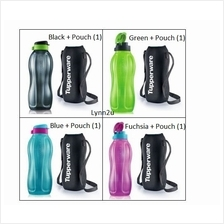 Tupperware Eco Bottle Flip Top (1) 1.5 L + Pouch (1)