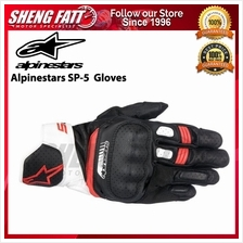 ALPINESTARS SP-5 GLOVES (BLACK/WHITE/RED)