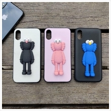 [READY STOCK] Iphone 6 7 8 Plus X XS XR MAX Kaws 3D Silicon Case Cover