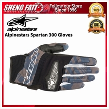 ALPINESTARS SPARTAN 300 GLOVES (BLACK/CARBON/NAVY)