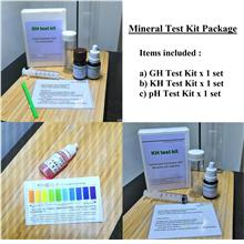 Aquarium Water Mineral Test Kit (GH,KH,pH) Package for Freshwater