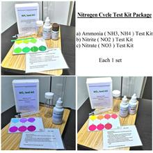 Aquarium Water Nitrogen Cycle Test Kit (NO2,NO3,NH3,NH4)for Freshwater