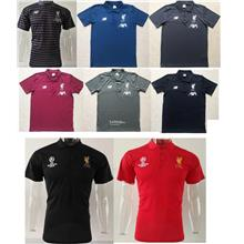 LFC Liverpool Men Polo T-Shirt Champions League
