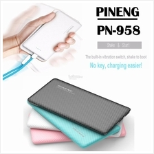 ORIGINAL Pineng PN-958 10000mAh Ultra Slim Power Bank Powerbank