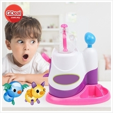 Balloon Inflator Children Sticky Ball Bubble Machine Craft Learning
