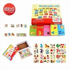 ABC Alphabet Or 123 Number Board Puzzle Wood Early Childhood Education