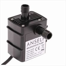 Anself Ultra-quiet Mini DC12V 4.5W Micro Brushless Water Oil Pump Waterproof S
