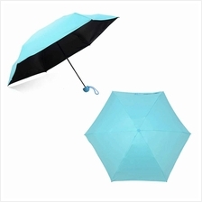 Creative Quality Capsule Mini Pocket Umbrella 5-Folding Anti-UV Umbrellas Wome