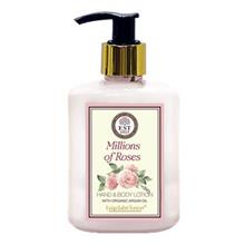 Hand and Body Lotion with Organic Argan Oil (Millions of Roses) 250ml