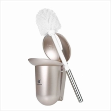CHUANGDIAN Wall-mounted Hideaway Toilet Brush and Holder Bathroom Toilet Bowl