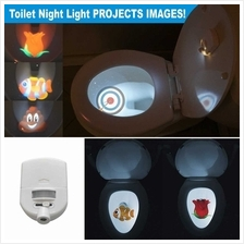 Night Light Toilet Projector for 4 Different Themes