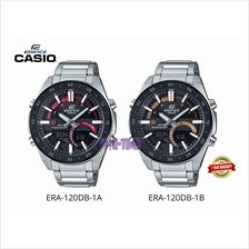 100% ORIGINAL CASIO EDIFICE ERA-120DB-1BV ERA-120DB-1AV MEN WATCH