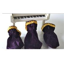 Piano Pedal Covers Purple