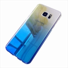 Samsung Galaxy S8 Gradient Color Hard Back Case Cover Casing-Blue
