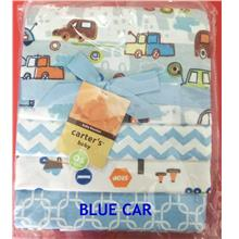 CARTERS NEWBORN BABY 4 IN 1 FLEECE COTTON BLANKET (READY STOCK)