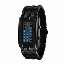 SKMEI Fashion Creative Watch Luxury Brand Digital LED Display Lover's Wristwat