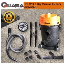 QUASA WDV-62761 1200W WET & DRY ALL-PURPOSE VACUUM CLEANER