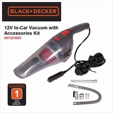 Black & Decker 12V dustbuster Auto Car Vacuum with Accessory Kit NV121