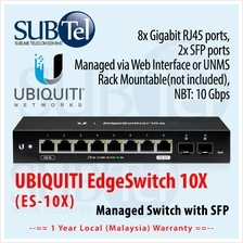ES-10X Ubiquiti EdgeSwitch 10X 8-Port Gigabit RJ45 Switch