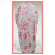 Fashion Foot Cover Mixed Red Pattern Design