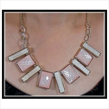 Fashion Korean Mixed Rectangle & Square Shape With Design Necklace