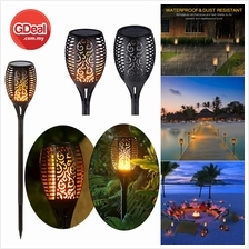 Solar Lights Outdoor Solar Torch Light Flickering Flame Garden Lightin