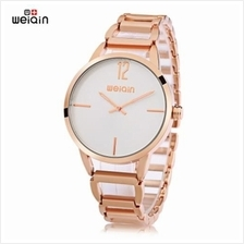 WEIQIN W4830 FEMALE QUARTZ WATCH CONCISE STYLE LUMINOUS HOLLOW STAINLESS STEEL