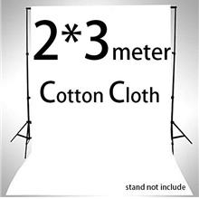 Backdrop Cloth 2x3m Cotton Kain Background 2m 3m Screen Studio