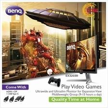 BenQ 31 5' EX3203R 144Hz 2K HDR400 Curved LED Monitor